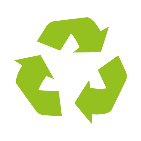 Sign of recycling 矢量图像