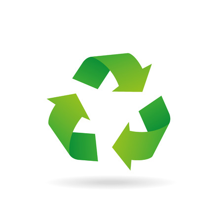 Sign of recycling Stock Illustratie