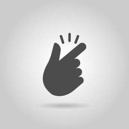 the finger: Chasquido de los dedos Vectores