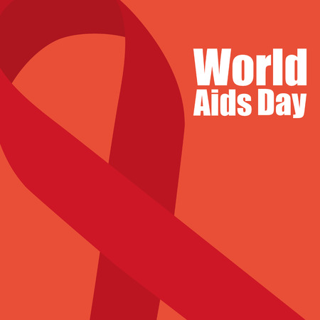 sexual health: world aids day Illustration
