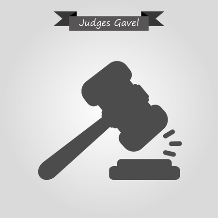 judge hammer: Judge gavel icon