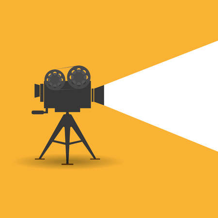 cinematograph: Retro cinema icon