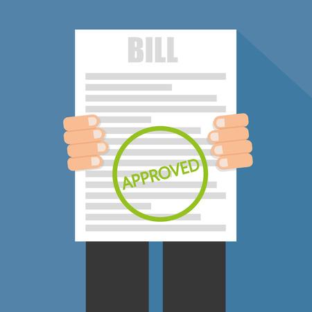 Bill genehmigt