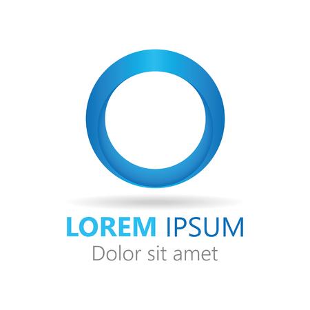 Icon, circle company logo design