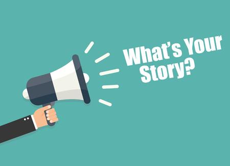 あなたの物語は何です。