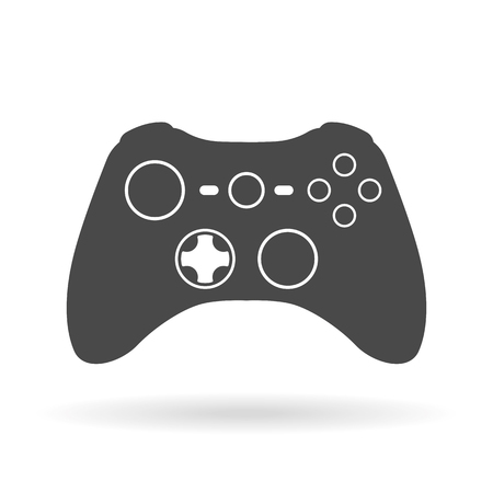 game pad: Game controller flat icon