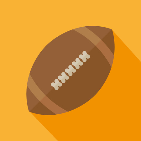 lacing: Football icon flst