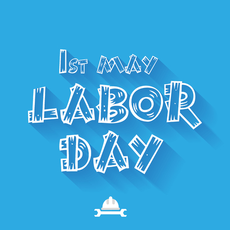 labor: International labour day. Labour day vector  illustration