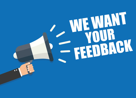 We Want Your Feedback 版權商用圖片 - 60120544