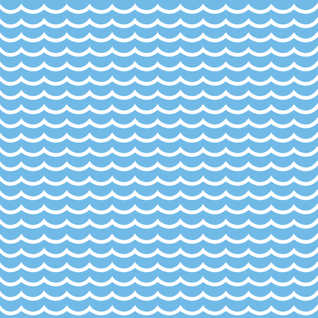waves pattern: Vector pattern with waves
