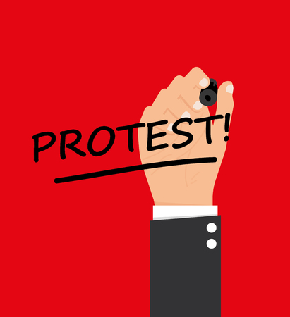 protest: Protest signs
