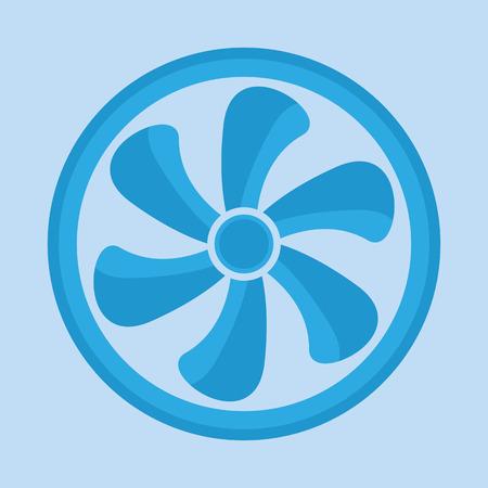 airscrew: Ventilator symbol