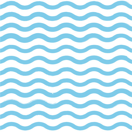 oceanic: Blue wave pattern