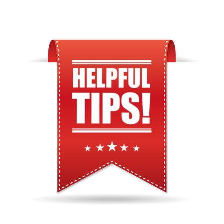 Helpful tips Vector Illustration
