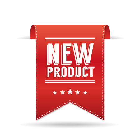 New product Vektorové ilustrace