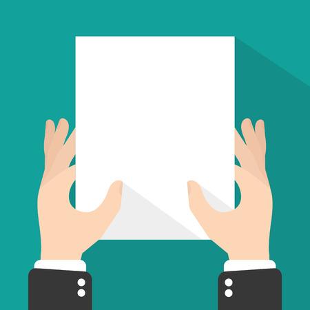 white sheet: hands holding white sheet