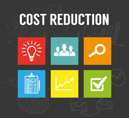 lower value: Cost reduction