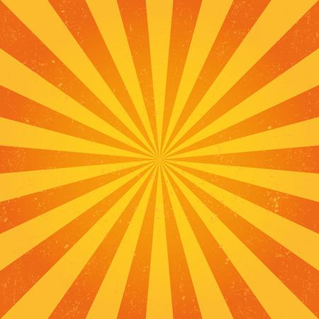 Vector sun rays