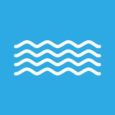 icon: Waves icon, vector illustration