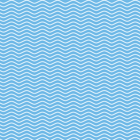 Vector pattern with waves. Illustration