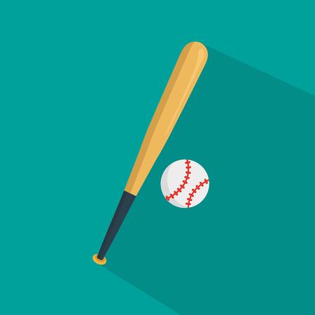 pitching: Baseball Icon Illustration