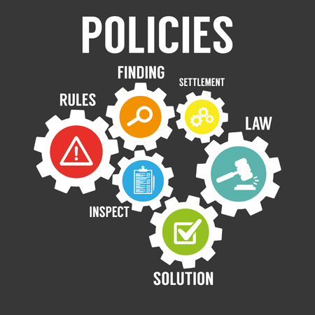 Policies icon.