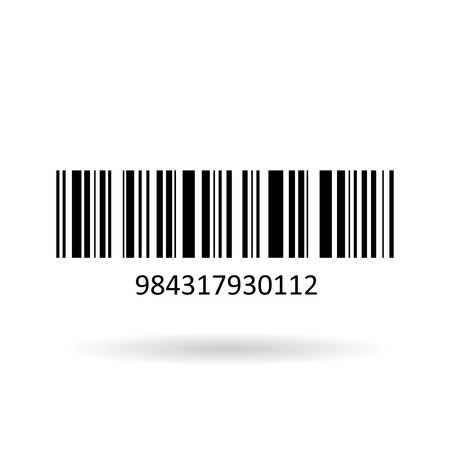 Barcode icon Illustration