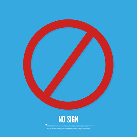 Do not sign flat icons,vector design Illustration