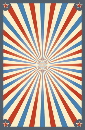 Vintage circus background for a poster 일러스트