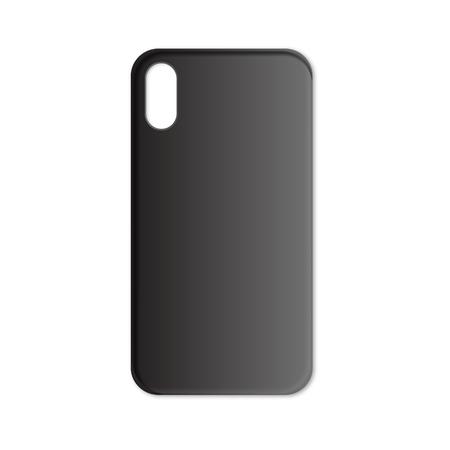 Phone case mockup template illustration Ilustração