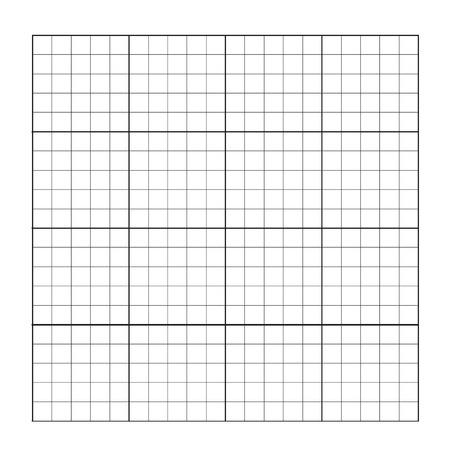 Vector illustration measured grid. Graph plotting grid. Corner ruler