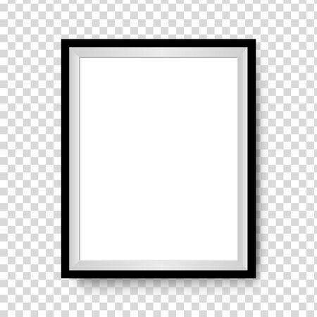 Vector Photo frame mockup design