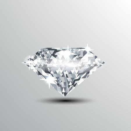 shining diamond illustration