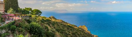 aeolian: View from Tindari towards Aeolian Islands Editorial