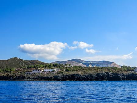 eolie: volcano sicily Editorial