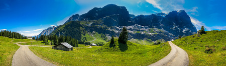 eiger: panorama Eiger