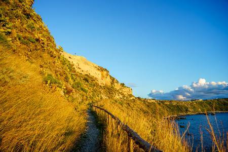 Cape Milazzo, nature reserve Piscina di Venere, Sicily, Italy, Tyrrhenian sea
