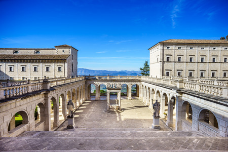 Benedictine Abbey Montecassino in Italy