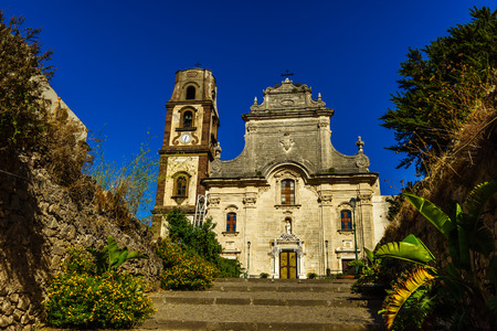 リーパリの聖バルトロメオの教会 写真素材