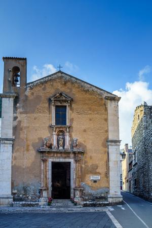 by catherine: Saint Catherine of Alexandria church. Taormina, Sicily, Italy