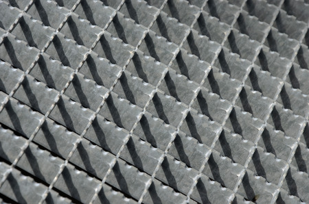 Steel grating Stock Photo - 51060120