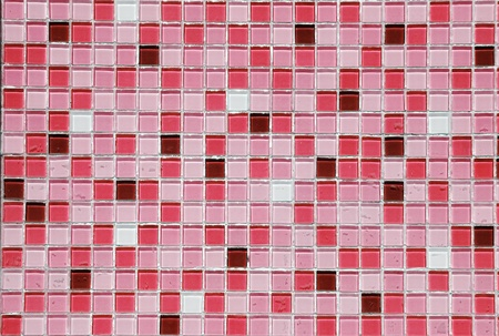 Mosaic pink photo