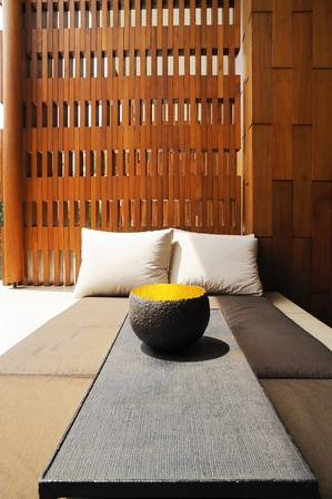 Residence space for relaxation.