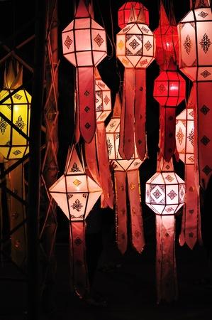 lanna: Lanna lantern festival decoration