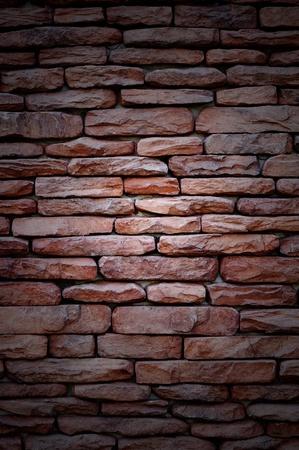 rouge: Rouge brick Stock Photo
