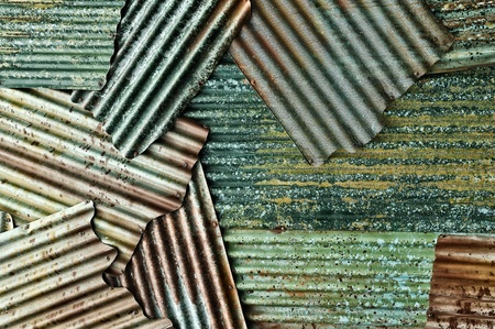 apparent: Ancient steel plate  The old dilapidated walls apparent pattern. Stock Photo