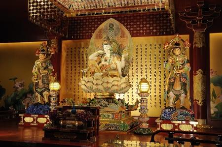 The Lord Buddha Chinese Buddha Tooth Relic,Singapore photo
