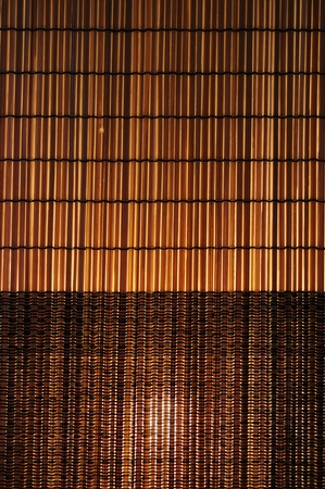 Bamboo Basket patterns. Crafting lamps for decoration. photo
