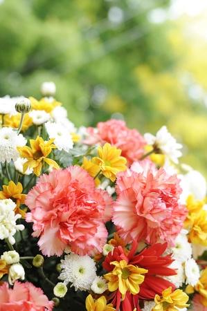Bouquet flower colorful event decoration photo