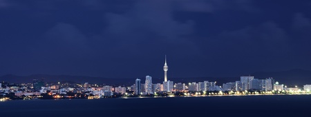 office lighting: Pattaya city twilight time